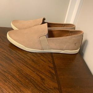 NEW Frye Lisa Slip On Leather Shoes